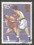Sellos de Europa - Reino Unido -  Boxeo