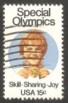 Stamps United States -  1251 - Olimpiadas para niños discapacitados