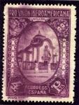 Sellos de Europa - España -  Pro Union Iberoamericana. Pabellon de Portugal
