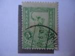 Stamps Greece -  Hermes, por Giovanni Da Bolonna´s.