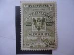 Stamps Venezuela -  Cuatricentenario Valencia del Rey  1555-1955.