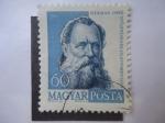 Stamps Hungary -  Naturalista: Herman Ottó 1835-1914 (Karoly Ottó)
