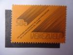 Sellos de America - Venezuela -  Primer Aniversario de la Nacionalización de la Explotación del Hierro 1976.