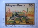 Stamps Hungary -  Centenario del Primer Tren Eléctrico- 1879-1979.