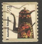 Stamps United States -  3321 - Cafetera decorada