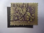 Sellos de Europa - Portugal -  Caballero Medioval - S/772.