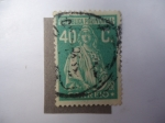 Stamps Portugal -  Diosa Romana de la Agricultura: Ceres.