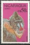 Stamps Nicaragua -  MANDRIL
