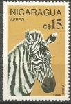 Stamps Nicaragua -  ZEBRA