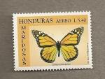 Sellos del Mundo : America : Honduras : Mariposa Danaus plexippus