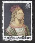 Stamps France -  Philexfrance 82 - Albert Durero ( 1471-1528 ) - Autorretrato