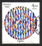 Stamps France -  Yaacov Agam
