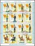 Stamps Equatorial Guinea -  Napóleon, Uniformes Militares