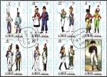 Stamps United Arab Emirates -  Uniformes napoleónicos en Francia, Ajman