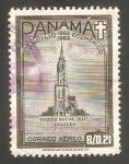 Stamps Panama -  318 - Iglesia nueva Delft, Holanda
