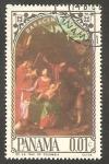 Stamps : America : Panama :  Cuadro de  Saraceti