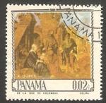 Stamps : America : Panama :  Cuadro de Dürer