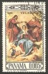 Stamps : America : Panama :  Cuadro de Velázquez
