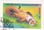 Stamps Madagascar -  zorro común