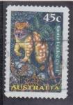 Sellos de Oceania - Australia -  gato marsupial