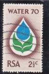 Stamps : Africa : South_Africa :  ilustración gota de agua