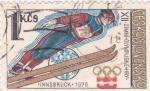 Stamps Czechoslovakia -  Olimpiada de invierno Innsbruck.78