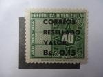 Sellos de America - Venezuela -  Tímbre Fiscal-República de Venezuela.