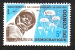 Stamps Democratic Republic of the Congo -  Aniversario de la Independencia