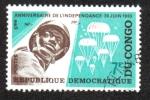 Stamps Democratic Republic of the Congo -  Aniversario de la Independencia