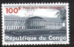 Stamps Democratic Republic of the Congo -  Palacio de La Nación, Leopoldville ( Kinshasa )
