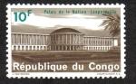 Sellos de Africa - República Democrática del Congo -  Palacio de La Nación, Leopoldville ( Kinshasa )