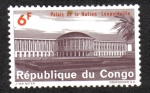 Stamps Democratic Republic of the Congo -  Palacio de La Nación, Leopoldville ( Kinshasa )