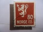 Stamps Norway -  León Heráldico -( S/202A)