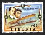 Stamps Liberia -  El progreso de la aviación