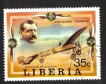 Sellos de Africa - Liberia -  El progreso de la aviación