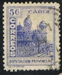 Stamps : Europe : Spain :  DIPUTACION PROVINCIAL CADIZ