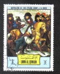 Sellos de Asia - Emiratos Árabes Unidos -  Napoleón I - Pinturas, Umm al-Qaiwain