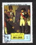 Stamps United Arab Emirates -  Napoleón I - Pinturas, Umm al-Qaiwain