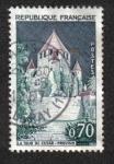 Sellos de Europa - Francia -  Provins - La Torre de César