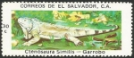 Sellos de America - El Salvador -  Garrobo (1254)