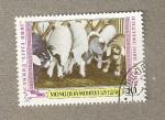 Stamps Mongolia -  Ganado