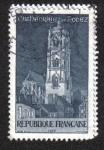Sellos de Europa - Francia -  Rodez. the Cathedral