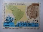 Stamps Spain -  Ed:2370- Viaje a Hispanoamerica de los Reyes de Espaá.