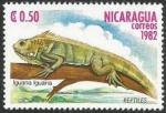 Sellos de America - Nicaragua -  Iguana (2402)