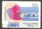 Stamps Australia -  2207 - Innovación australiana, ultrasonidos para mujer embarazada