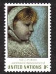 Sellos de America - ONU -  Maia de Pablo Picasso, New Yor