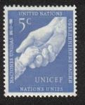 Stamps ONU -  Dos Manos, New York
