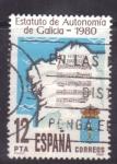 Stamps Spain -  estatuto de autonomia de galicia