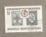 Stamps of the world : Mongolia :  Sellos antiguos