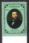 Stamps Honduras -  Heindrich Von Stephan, 100 aniversario de su muerte